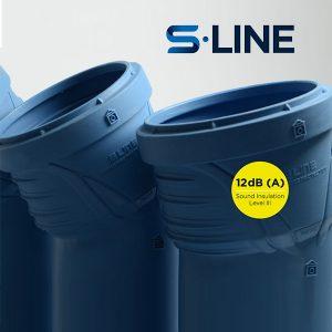 (НТРР) S-LINE Безшумна канализационна система